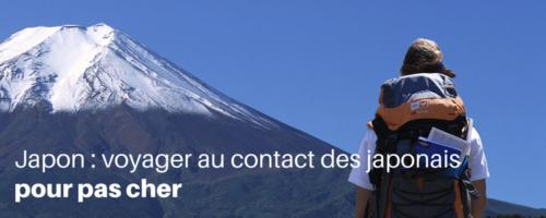 Japon: voyager au contact des japonais pour pas cher