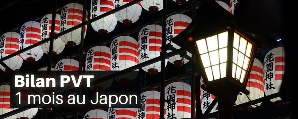 Bilan PVT – 1 mois au Japon