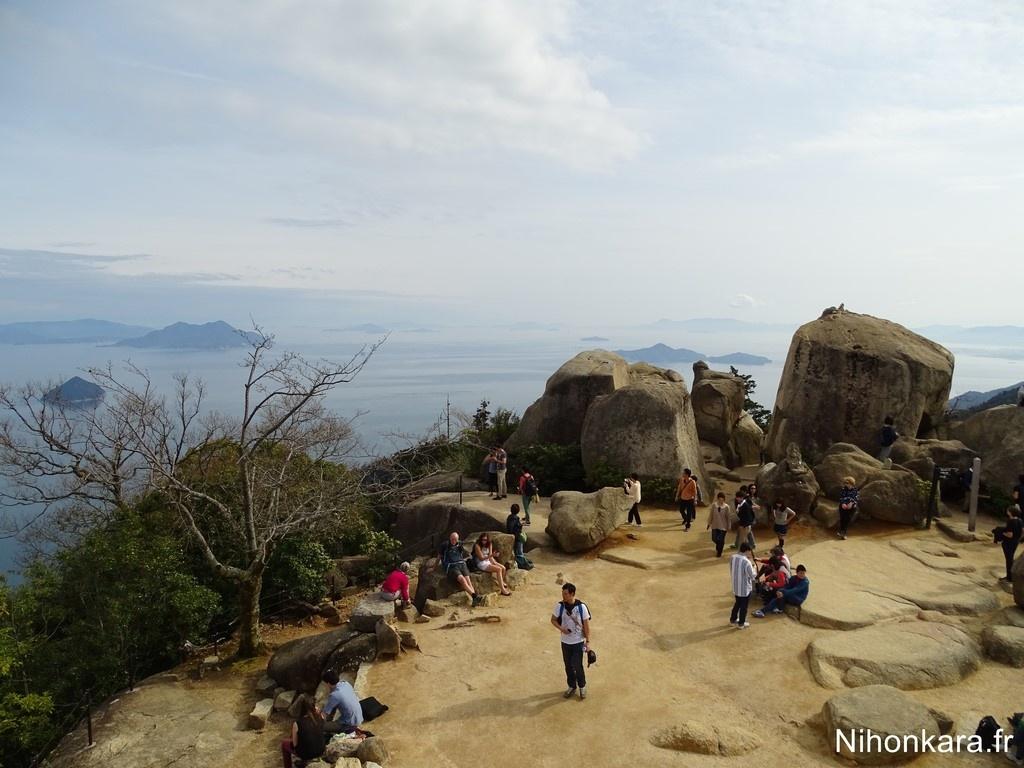 Le mont Misen