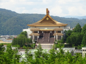 Le grand temple mondial Takayama