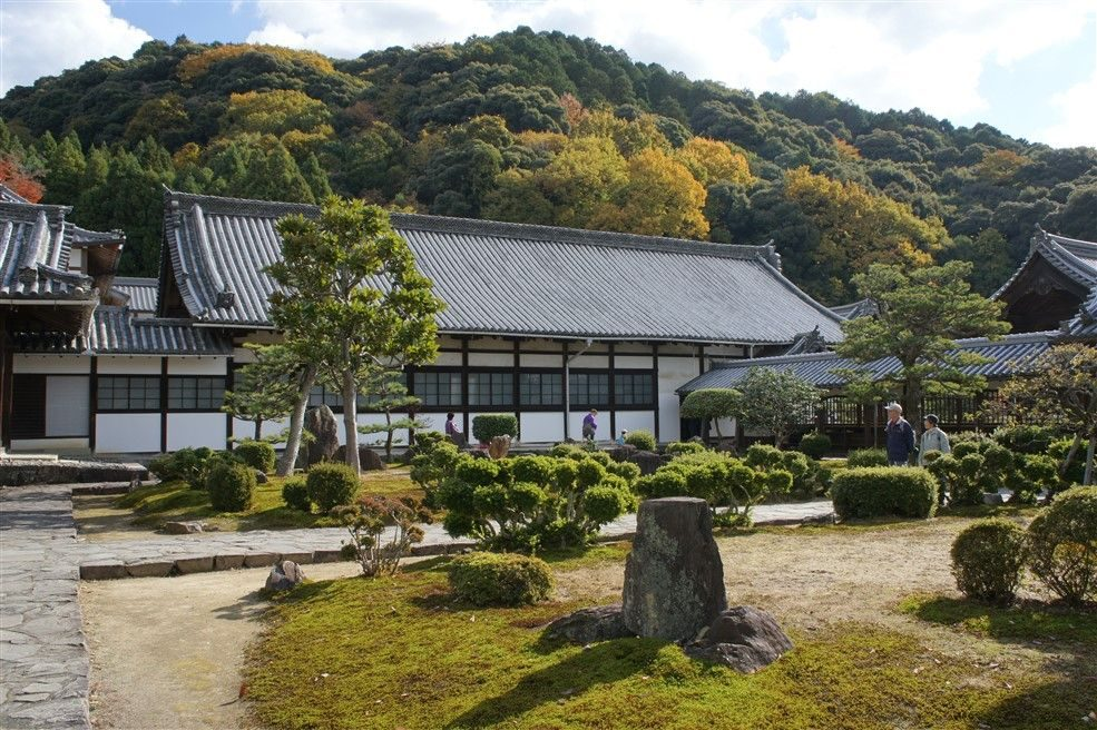 Le temple Koshoji à Uji