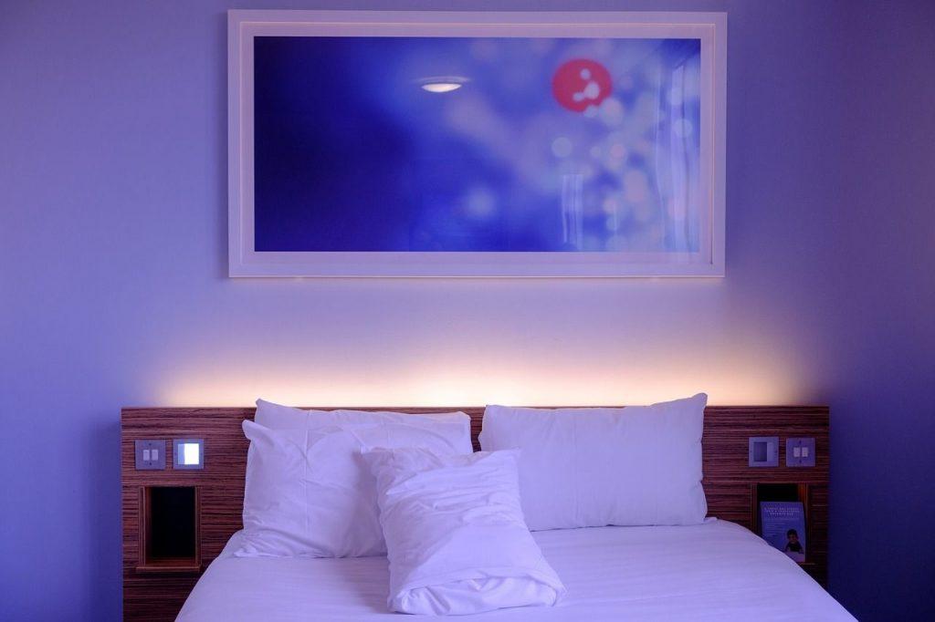Un hotel au Japon