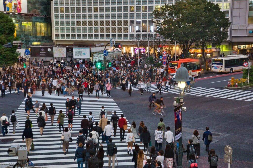 Le Shibuya Crossing