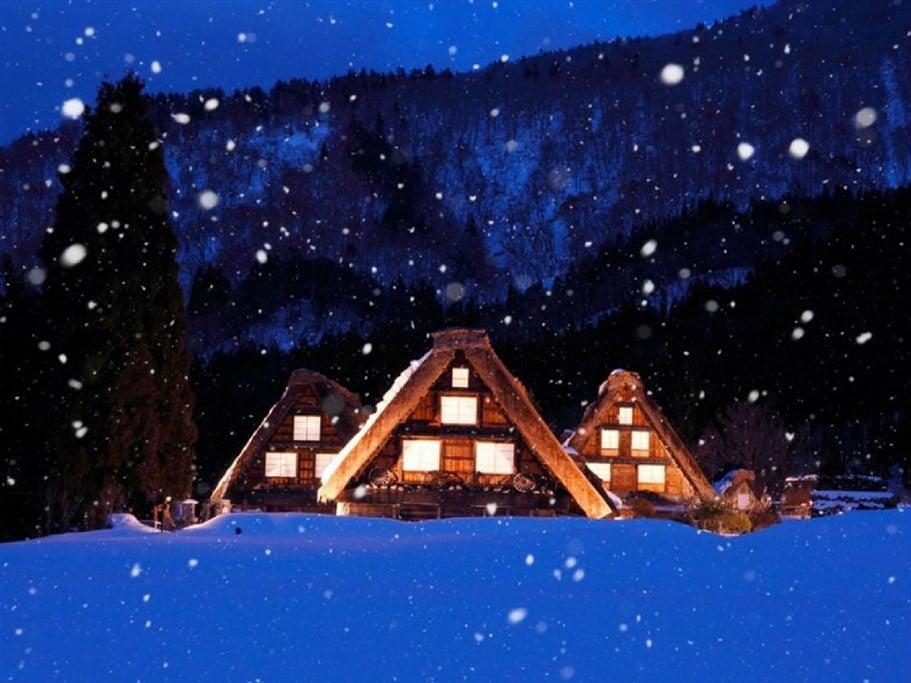shirakawa-go-hiver