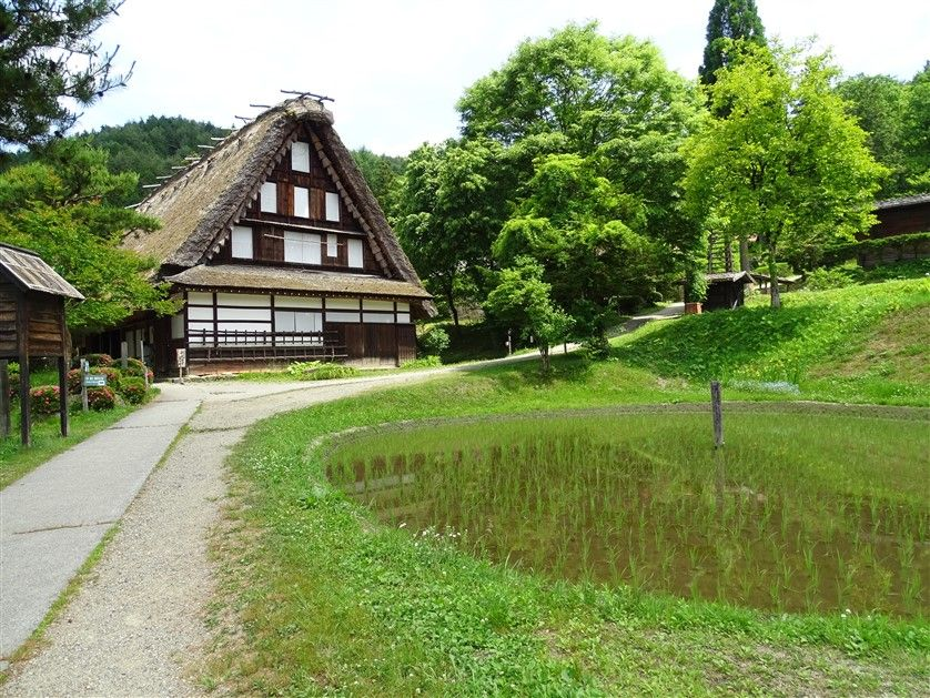 Le Hida folks village à Takayama