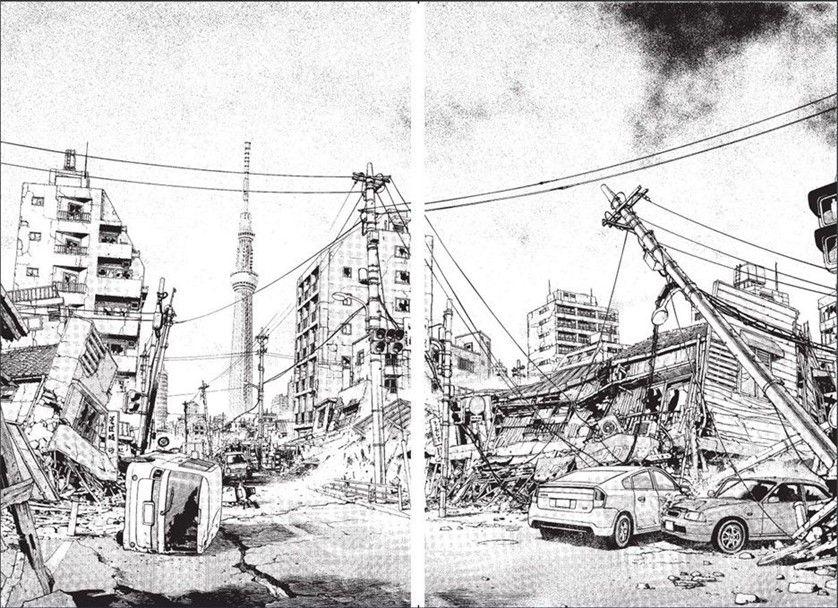 Le Big One, tremblement de terre au Japon