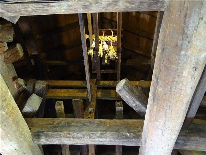 Intérieur du château de Matsumoto