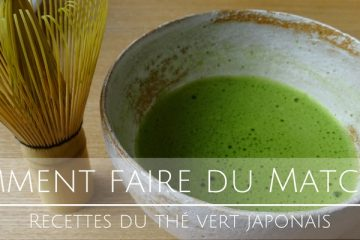 Comment faire du Matcha