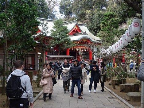 Un sanctuaire à Enoshima