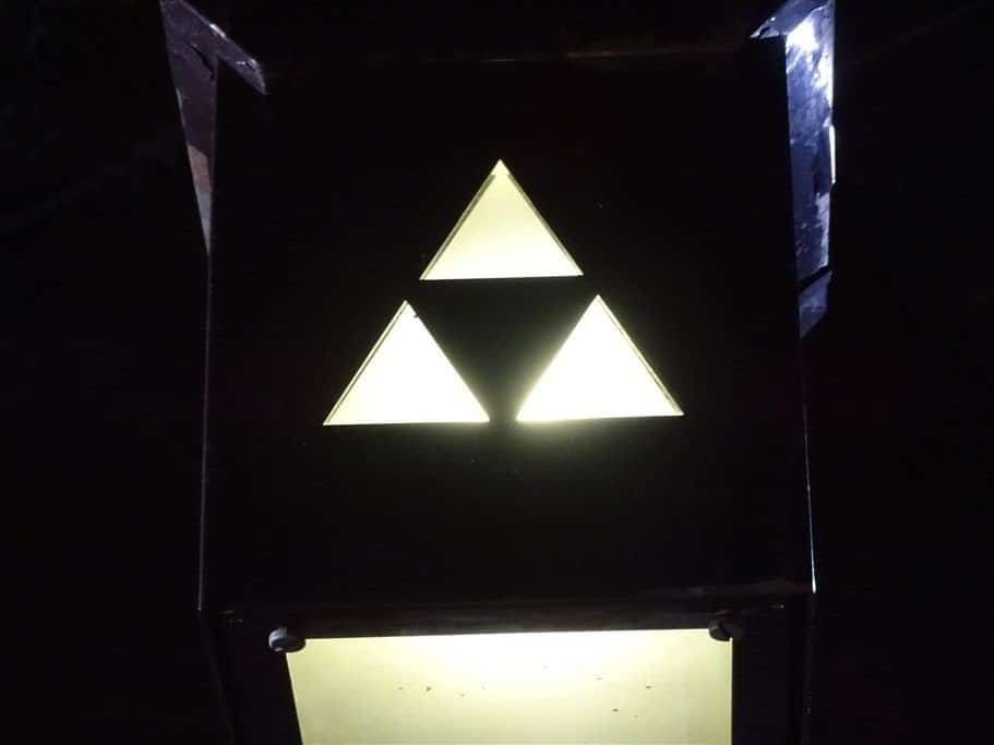 La triforce de Zelda