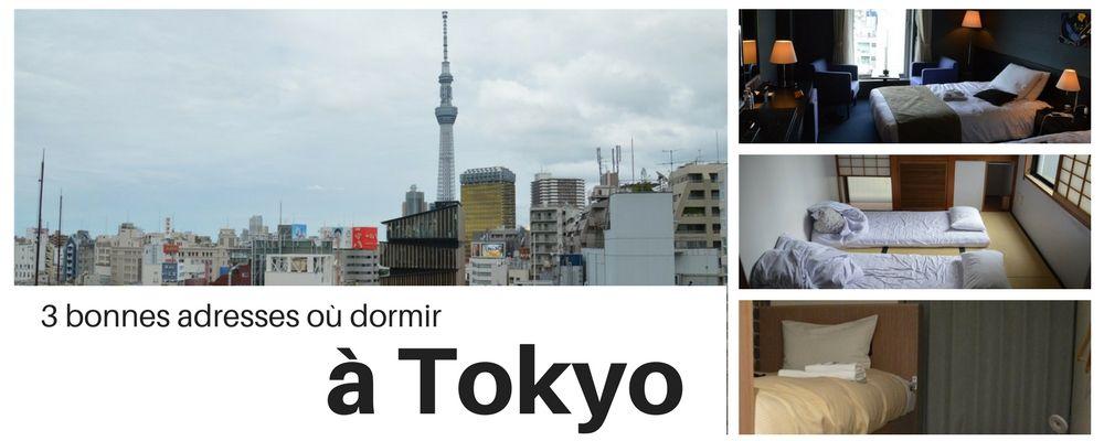 3 bonnes adresses où dormir à Tokyo