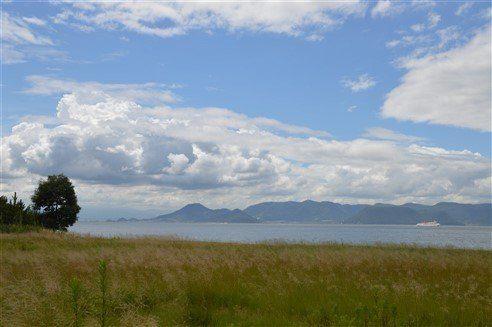 Un beau paysage à Naoshima