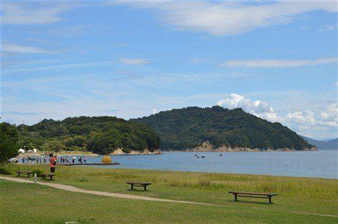 La plage de Naoshima