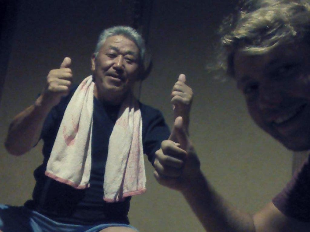 Secouru par des japonais