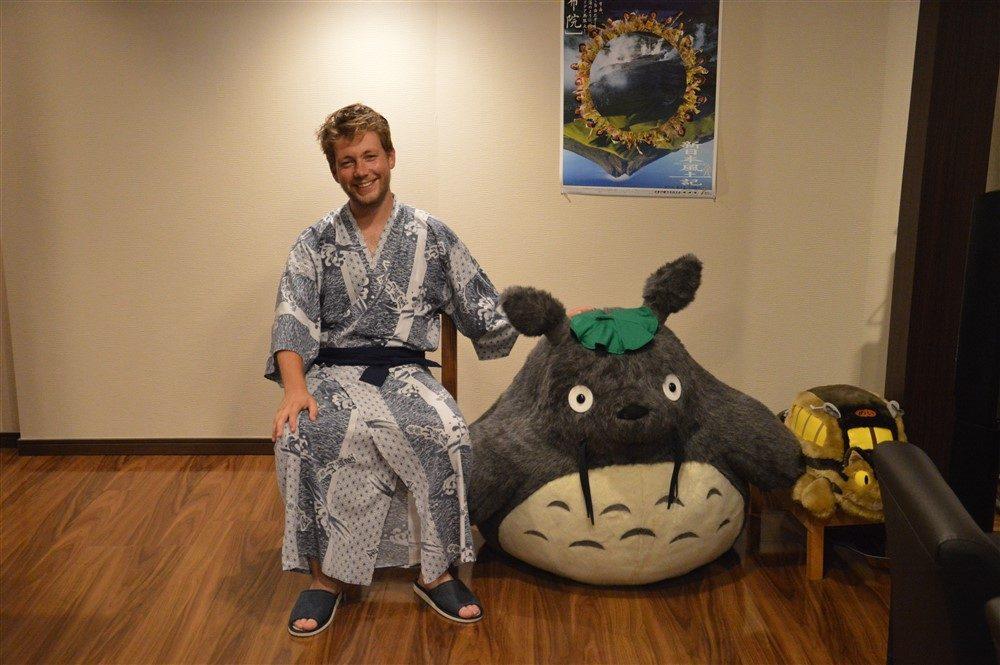 Le Totoro du Yamashiroya Ryokan