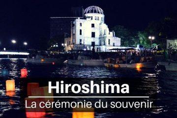 La commémoration de la paix à Hiroshima