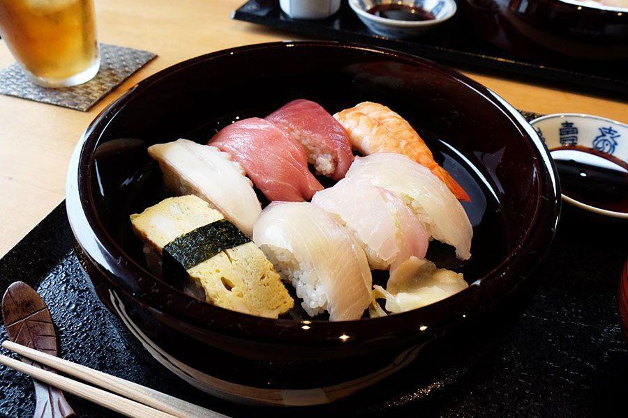 De bons sushis