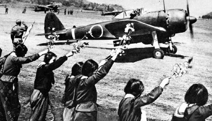 Les Kamikaze au Japon