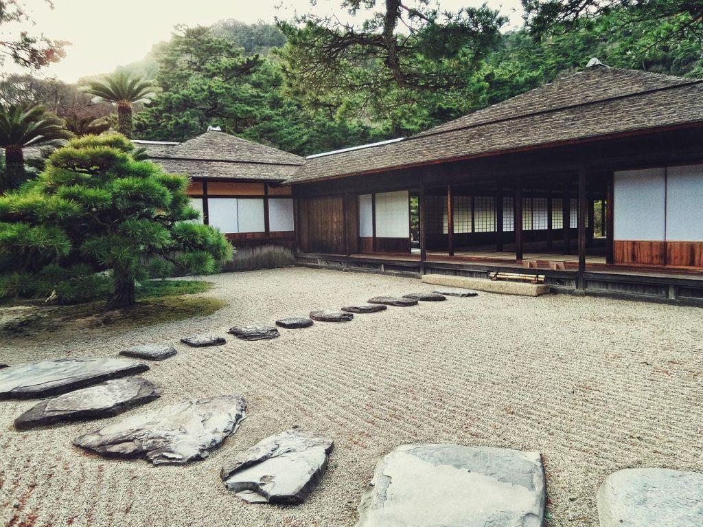 une maison de l'ère Edo