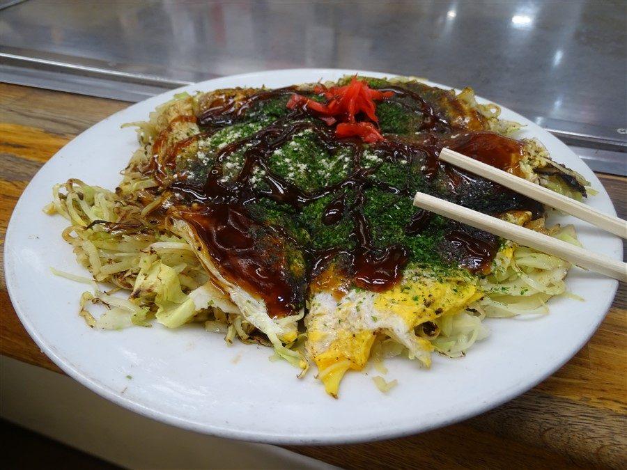 un okonomiyaki