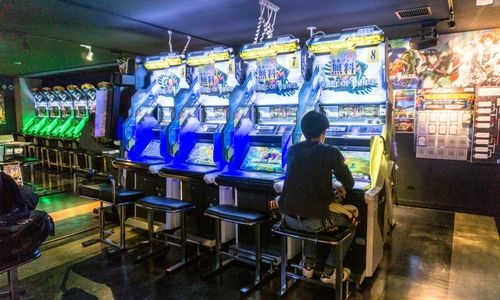 Game center à Akihabara