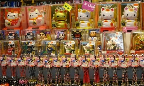 Acheter des souvenirs à Tokyo