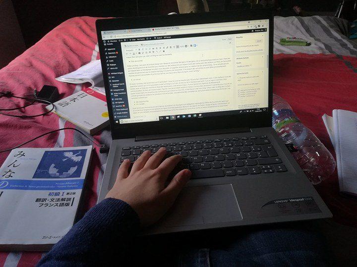 la création de blog