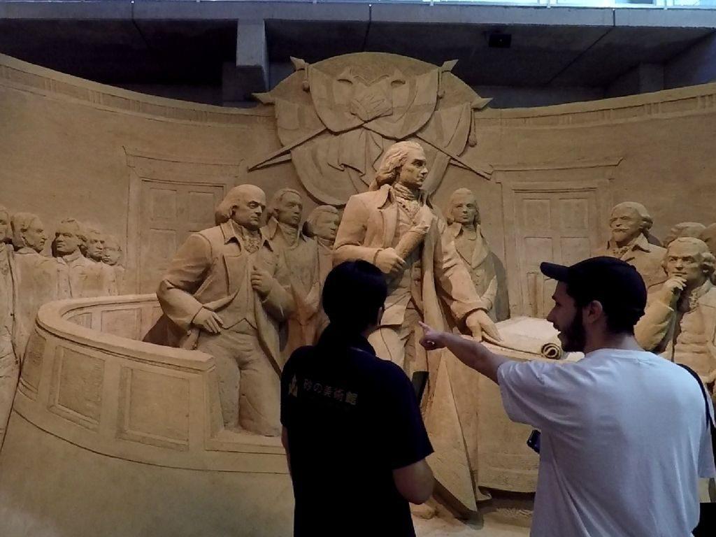 Le musée du sable à Tottori