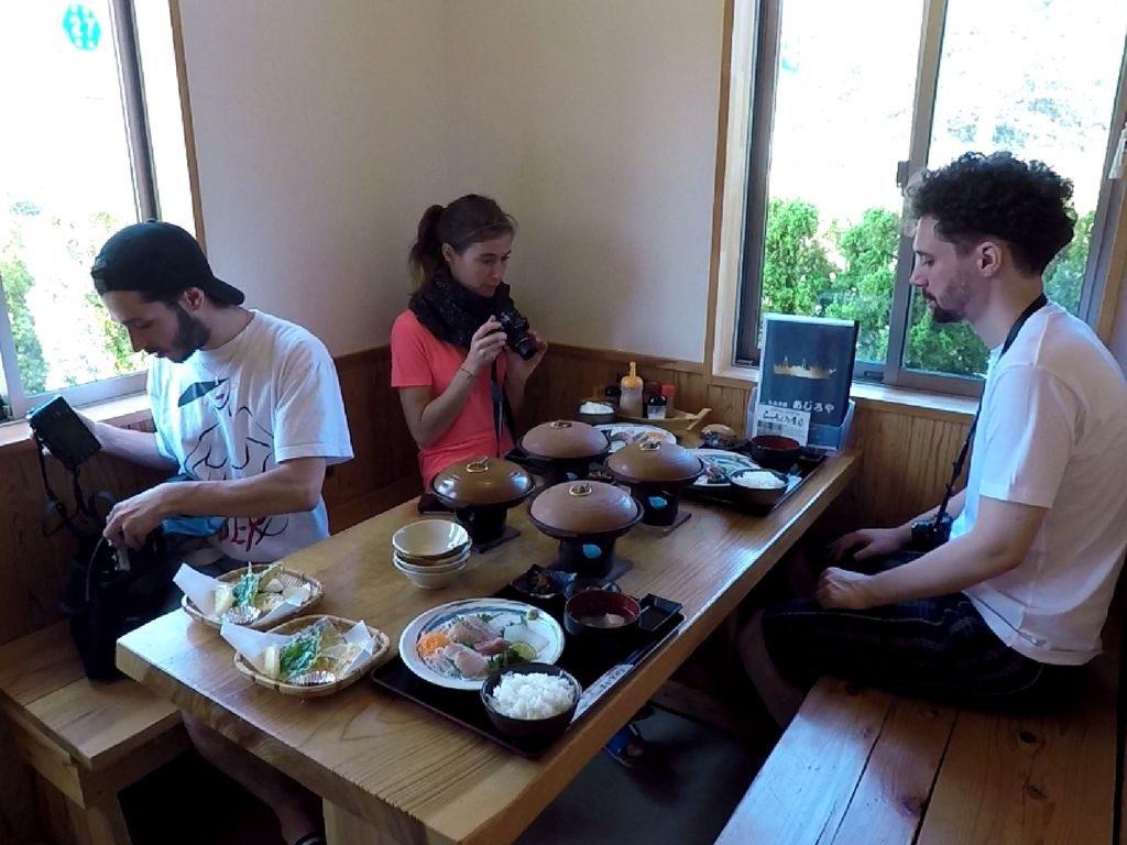 Le repas à Tottori