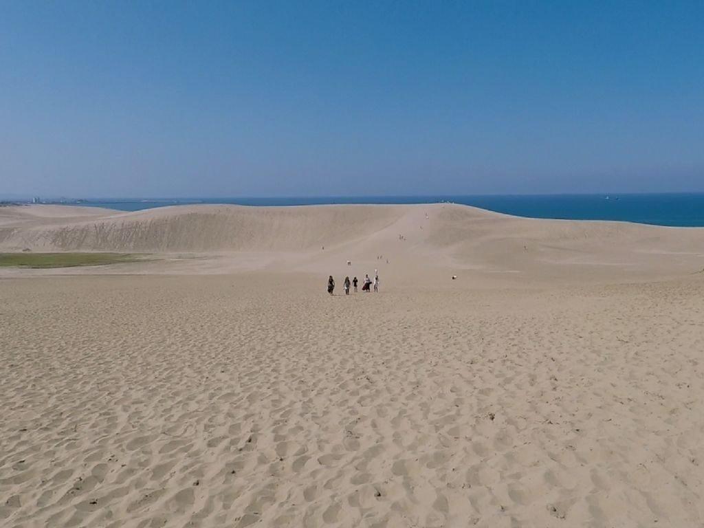 Du sable à Tottori