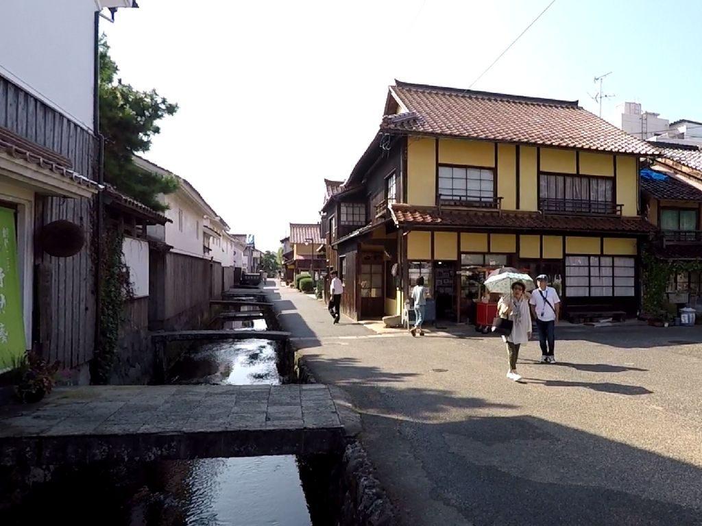 Un village traditionnel au Japon