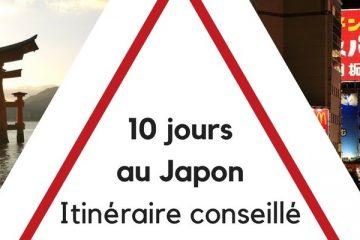 10 jours au Japon - itinéraire conseillé