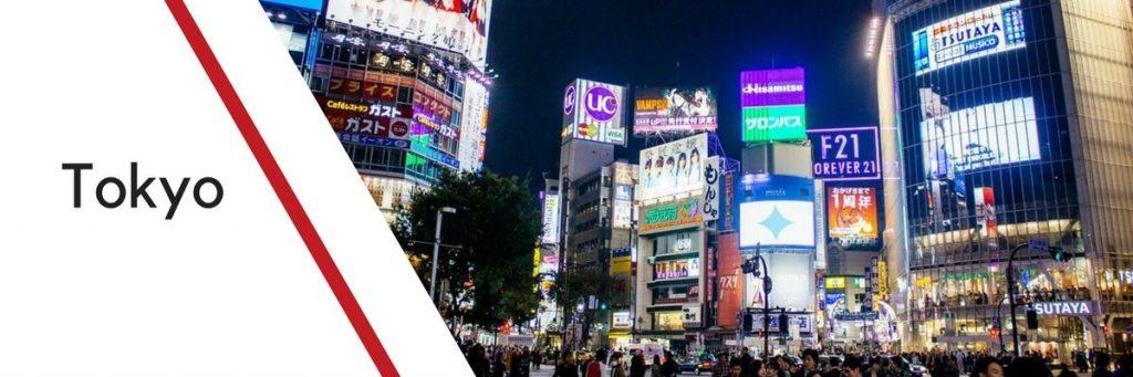 itineraire tokyo