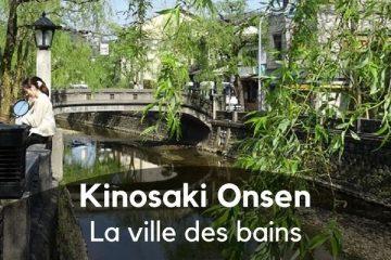 Kinosaki onsen ville des bains au Japon