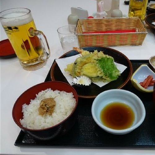 Un repas à Himeji