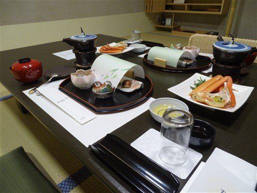 Notre repas à Kinosaki