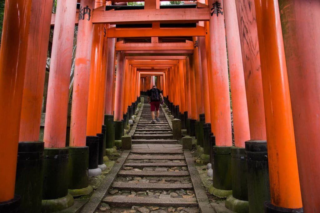 Le sanctuaire Fushimi Inari Jinja