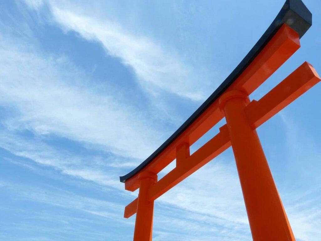Le grand Torii de Kyoto