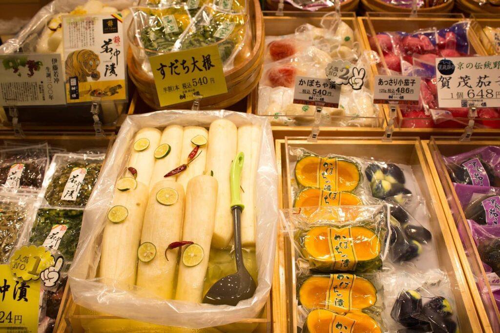 Le Nishiki market