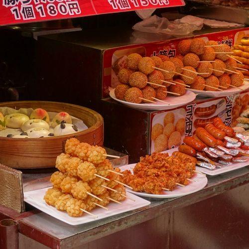 Nourriture chinoise à Kobe