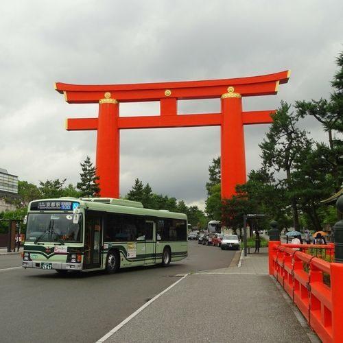 le sanctuaire rouge de Kyoto