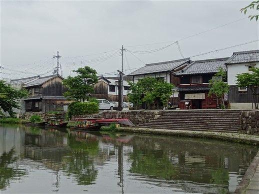 Les canaux du lac biwa