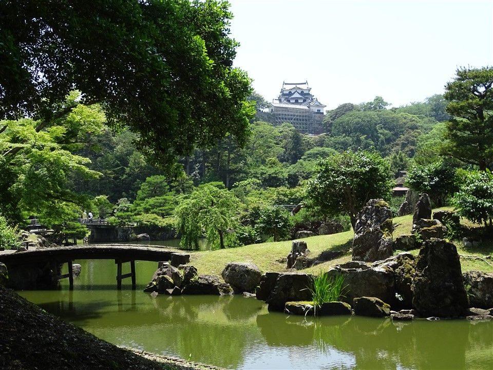 Le jardin Genkyu En