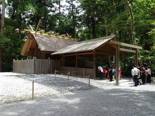 Le sanctuaire Kegu Ise
