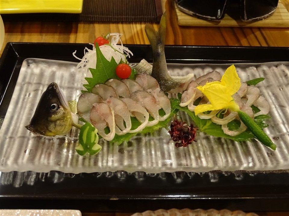 Les sashimis du lac