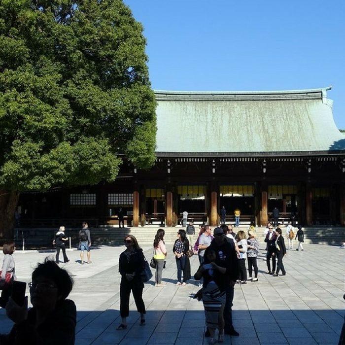 le meiji jingu à Tokyo
