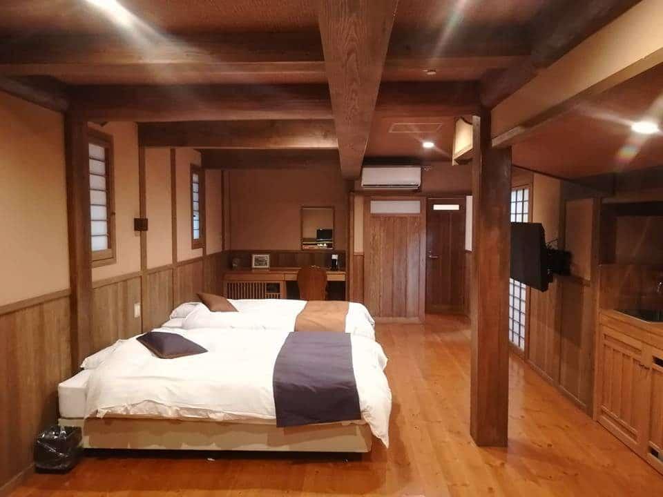 La chambre au Wakaba