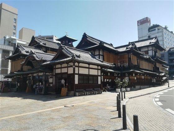 Le bâtiment principal de Dogo Onsen