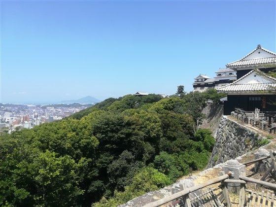 La vue depuis le château
