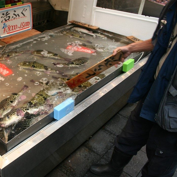 Le marché couvert d'Osaka